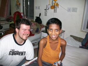 Ryan and his buddy Hadj-Rah-Sek
